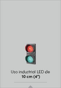 "Uso industrial LED de 10 cm (4"")"