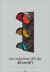 "Uso industrial LED de 20 cm (8"")"